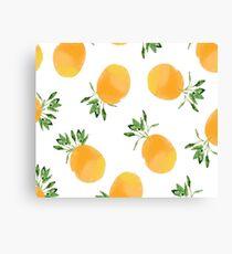 Citrus celebrations Canvas Print