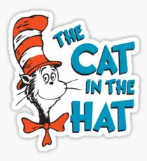 The Cat in the Hat Sticker