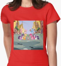 my little pony pre-princess era Womens Fitted T-Shirt