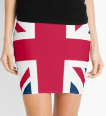 Union Jack, Flag of the United Kingdom, UK, British flag, BIG SQUARE Mini Skirt