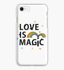 Love is Magic iPhone Case/Skin