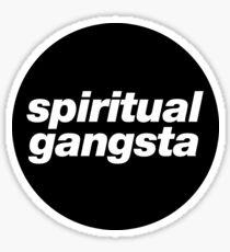 spiritual gangsta Sticker