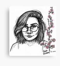 cherry dodie Canvas Print