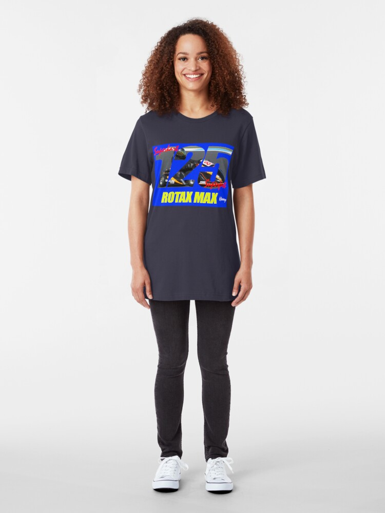 Alternate view of Superkart 125 Rotax Max Heavy Slim Fit T-Shirt