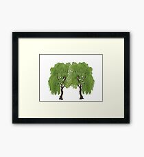 The Weeping  Framed Print