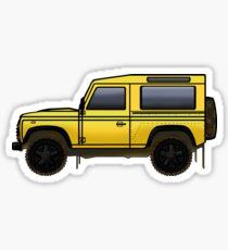 Defender 90 [Yellow] Sticker