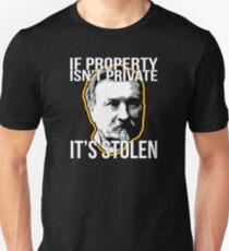 Gustave Molinari Anarchist Private Property Libertarian Unisex T-Shirt