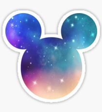 Galaxy Mouse Sticker