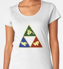 Hoenn's Legendary Triforce Women's Premium T-Shirt