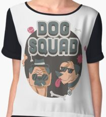 Dog Squad Women's Chiffon Top