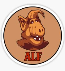 ALF - ALIEN LIFE FORM FROM MELMAC Sticker