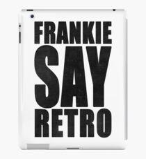 Frankie Say Retro iPad Case/Skin