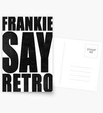 Frankie Say Retro Postcards