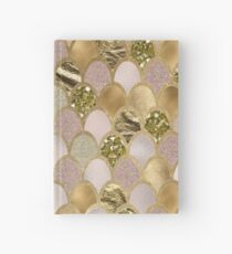 Rose Gold Meerjungfrau Skalen Notizbuch