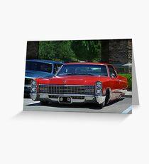 1967 Cadillac Sedan Deville - 1 Greeting Card