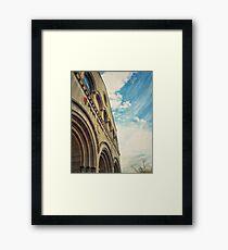 HDR Church Framed Print