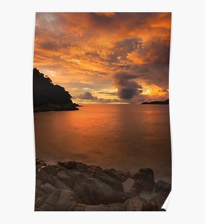 Dawn @ Perhentian Island, Malaysia Poster