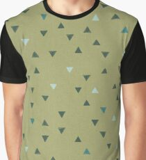 DOWN UP / olive green / seaweed / turquoise / aqua mint Graphic T-Shirt