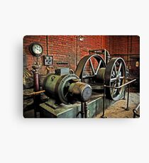 Compressions Of The Past Canvas Print