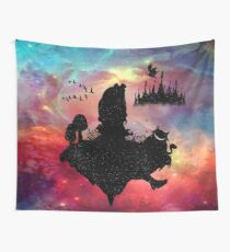 Back To Wonderland Wall Tapestry
