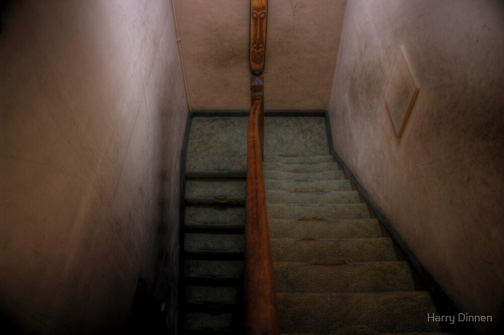Stairs - HDR by Harry Dinnen