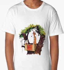 calvin and hobbes Long T-Shirt
