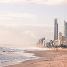 Gold Coast in the mist by Kornrawiee