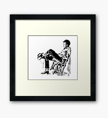 The Cowboy from the East Framed Print