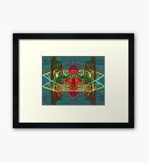 Digitally Transformed Apophysis Abstract Framed Print