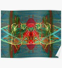 Digitally Transformed Apophysis Abstract Poster