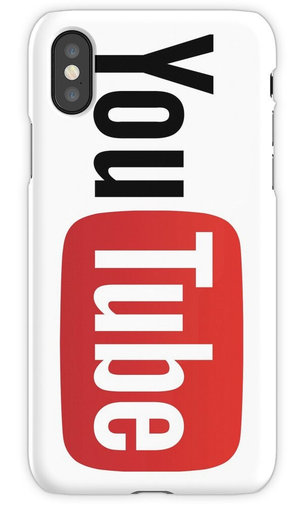 "Youtube Logo Makeup: ""YouTube Logo "" IPhone Cases & Covers By Futurism"