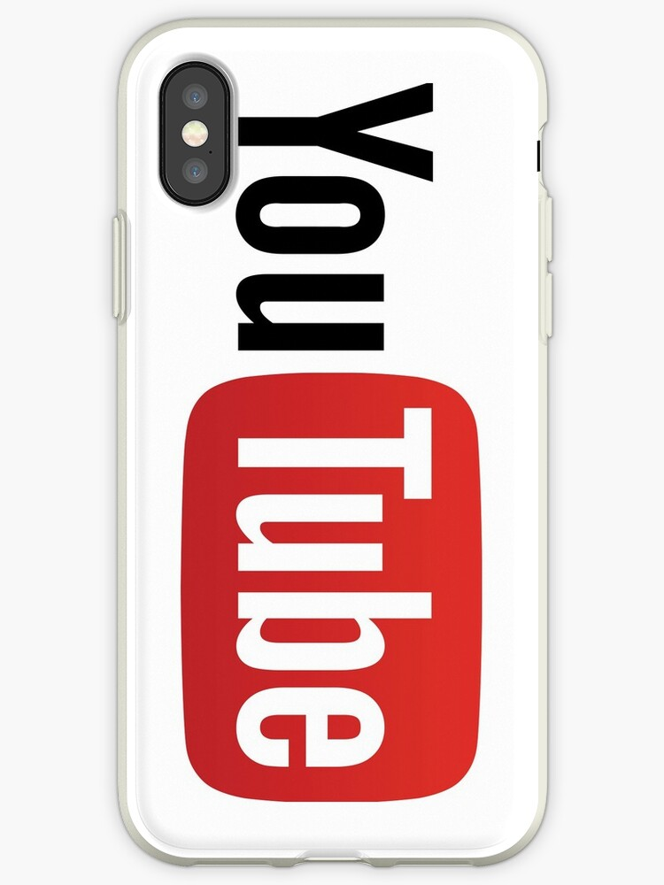 Youtube Logo Iphone Cases Covers By Futurism Redbubble