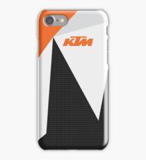 KTM carbon fiber fractals iPhone Case/Skin