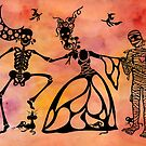 Halloween Romance by candyfroggie