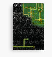 microchip armour Canvas Print