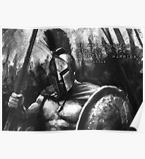 Mightiest Warrior - Spartan Warrior Poster