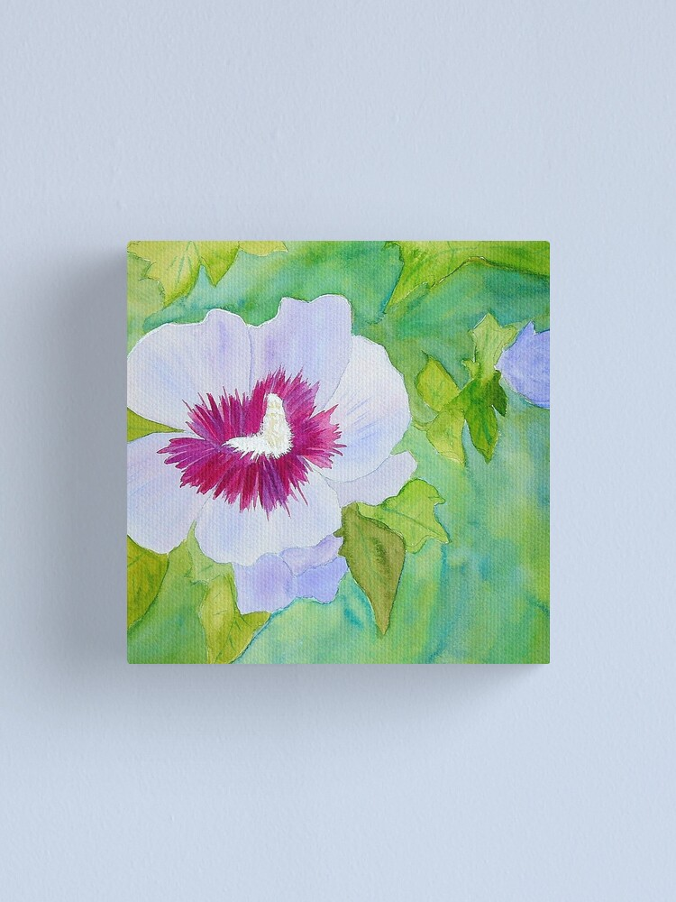 Alternate view of Rose of Sharon Canvas Print