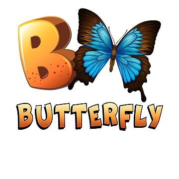 B is For Butterfly by MikeMcGreg