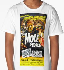 Vintage The Mole People Horror Movie Long T-Shirt