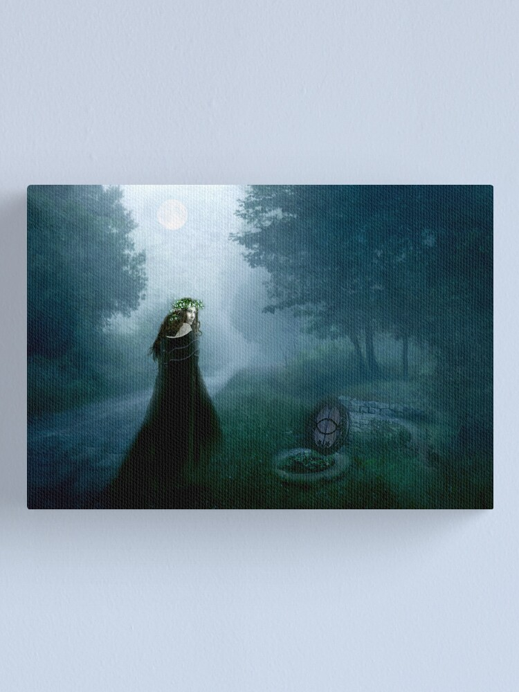 Alternate view of May Eve Canvas Print
