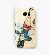 Golden Age Phone Girl 2 Samsung Galaxy Case/Skin