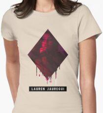 Lauren Jauregui ( 5H ) Womens Fitted T-Shirt