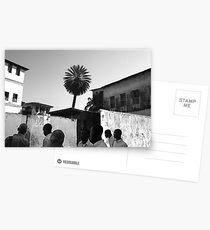 Zanzibar students Postcards