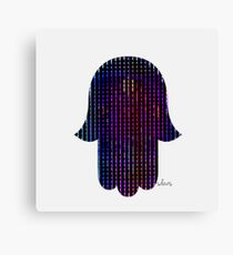 Hamsa Multicolor 42417 Canvas Print
