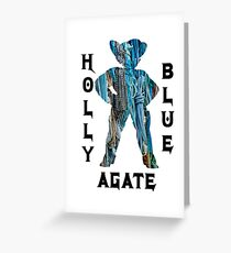 Holly Blue Agate Steven Universe Greeting Card
