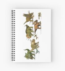 Triceratops and Company Spiral Notebook