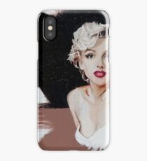Marilyn Monroe In Oil iPhone Case/Skin