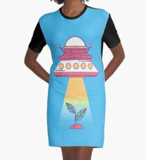 The Life Stealer Graphic T-Shirt Dress