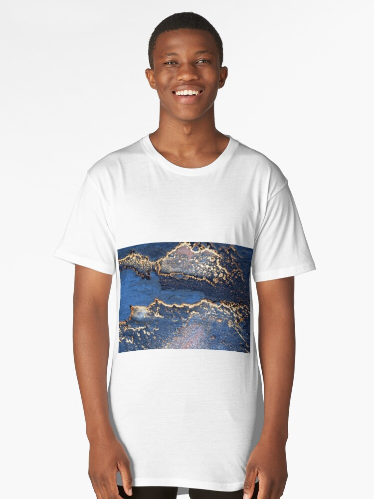 Reflections in the Sand Long T-Shirt Front