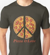Pizza & Love Unisex T-Shirt